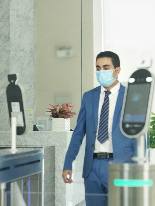 Tackle pandemics with biometrics to resume work as usual